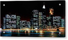 New York City Skyline 2 Acrylic Print