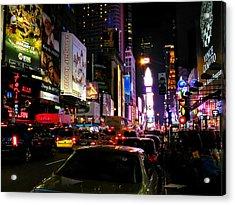 New York City - Times Square 002 Acrylic Print