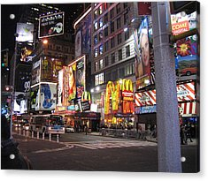 New York City - Times Square - 121216 Acrylic Print