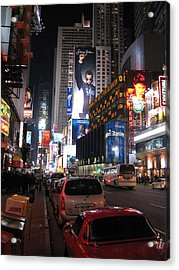 New York City - Times Square - 121224 Acrylic Print by DC Photographer