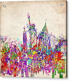 New York City Tribute 2 Acrylic Print