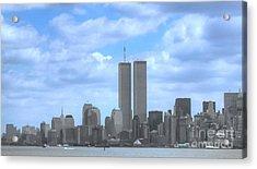 New York City Twin Towers Glory - 9/11 Acrylic Print