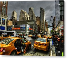 New York City - Upper East Side 001 Acrylic Print by Lance Vaughn
