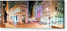 New York City Wall Street Panorama Acrylic Print