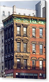 New York City - Windows - Old Charm Acrylic Print by Gary Heller