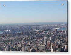 Acrylic Print featuring the photograph New York  by David Grant