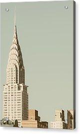 New York Deco Acrylic Print by Irene Suchocki