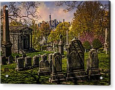 New York From City To City Acrylic Print by Chris Lord