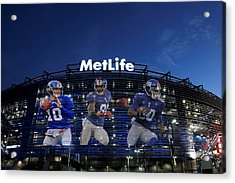 New York Giants Metlife Stadium Acrylic Print