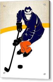 New York Islanders Rink Acrylic Print