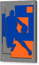 New York Knicks Art Acrylic Print by Joe Hamilton