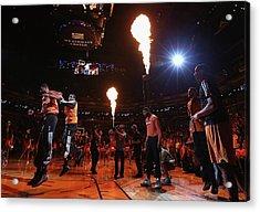 New York Knicks V Phoenix Suns Acrylic Print