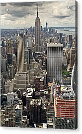 New York Midtown Skyscrapers Acrylic Print