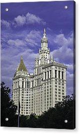 New York Municipal Building Acrylic Print