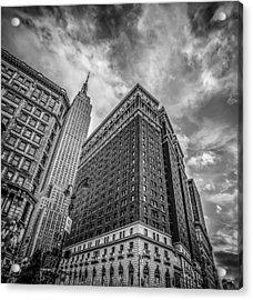 New York New York Acrylic Print by Shari Mattox