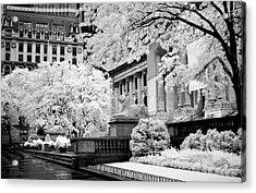 New York Public Library Ir Acrylic Print