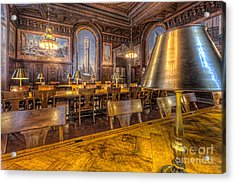 New York Public Library Periodicals Room IIi Acrylic Print by Clarence Holmes