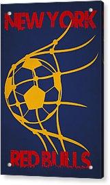 New York Red Bulls Goal Acrylic Print by Joe Hamilton