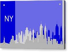 New York Shadows Acrylic Print