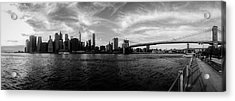 New York Skyline Acrylic Print by Nicklas Gustafsson