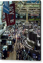 New York Stock Exchange Acrylic Print by Mountain Dreams