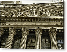 New York Stock Exchange Acrylic Print by Garry Gay