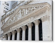 New York Stock Exchange I Acrylic Print by Clarence Holmes