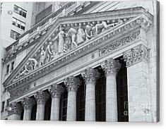 New York Stock Exchange II Acrylic Print by Clarence Holmes