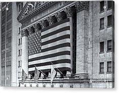 New York Stock Exchange Iv Acrylic Print