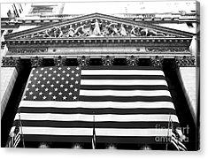 New York Stock Exchange Acrylic Print by John Rizzuto