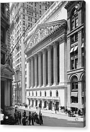New York Stock Exchange, New York In 1904 Acrylic Print