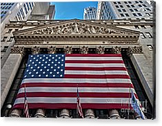 New York Stock Exchange Acrylic Print
