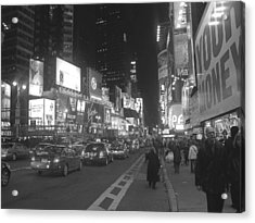 New York Streets Acrylic Print