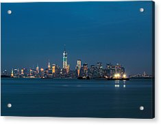 New York Twilight Acrylic Print