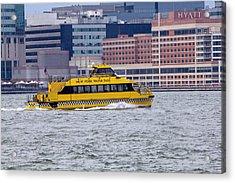 New York Water Taxi Acrylic Print