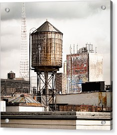 New York Water Tower 16 Acrylic Print