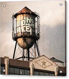 New York. Water Towers 6 Acrylic Print