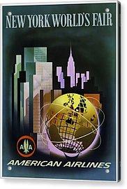 New York Worlds Fair Acrylic Print by Mark Rogan