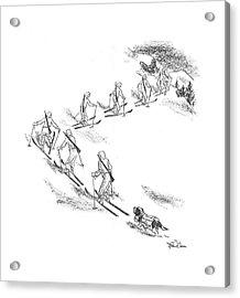 New Yorker April 11th, 1942 Acrylic Print