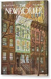 New Yorker April 12th, 1969 Acrylic Print