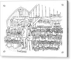 New Yorker April 12th, 1999 Acrylic Print