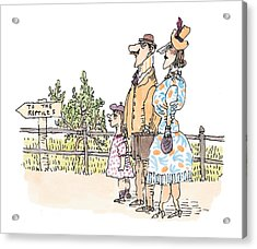 New Yorker April 12th, 1999 Acrylic Print by William Steig