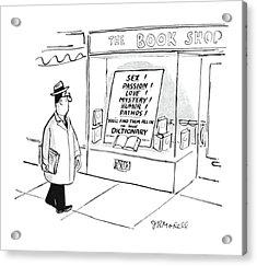 New Yorker April 15th, 1950 Acrylic Print