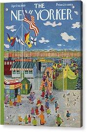 New Yorker April 18th, 1959 Acrylic Print