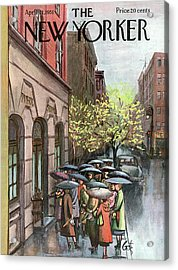 New Yorker April 21st, 1951 Acrylic Print
