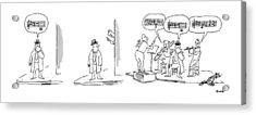 New Yorker April 21st, 1975 Acrylic Print