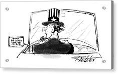New Yorker April 24th, 1995 Acrylic Print