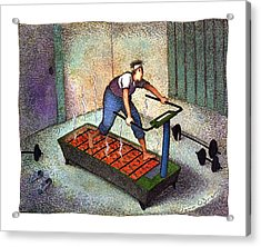 New Yorker April 25th, 1994 Acrylic Print