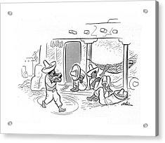 New Yorker April 26th, 1941 Acrylic Print