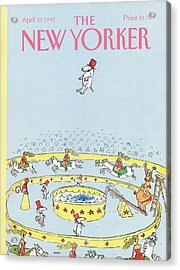 New Yorker April 27th, 1992 Acrylic Print